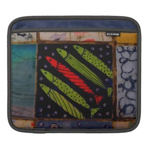 jerusalem tiles ipad sleeve