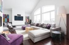 purple livingroom