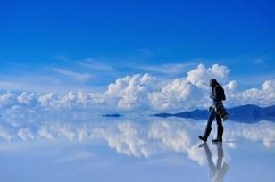 Reflective salt flats_Bolivia