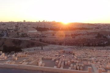 UNESCO Sunset Jerusalem