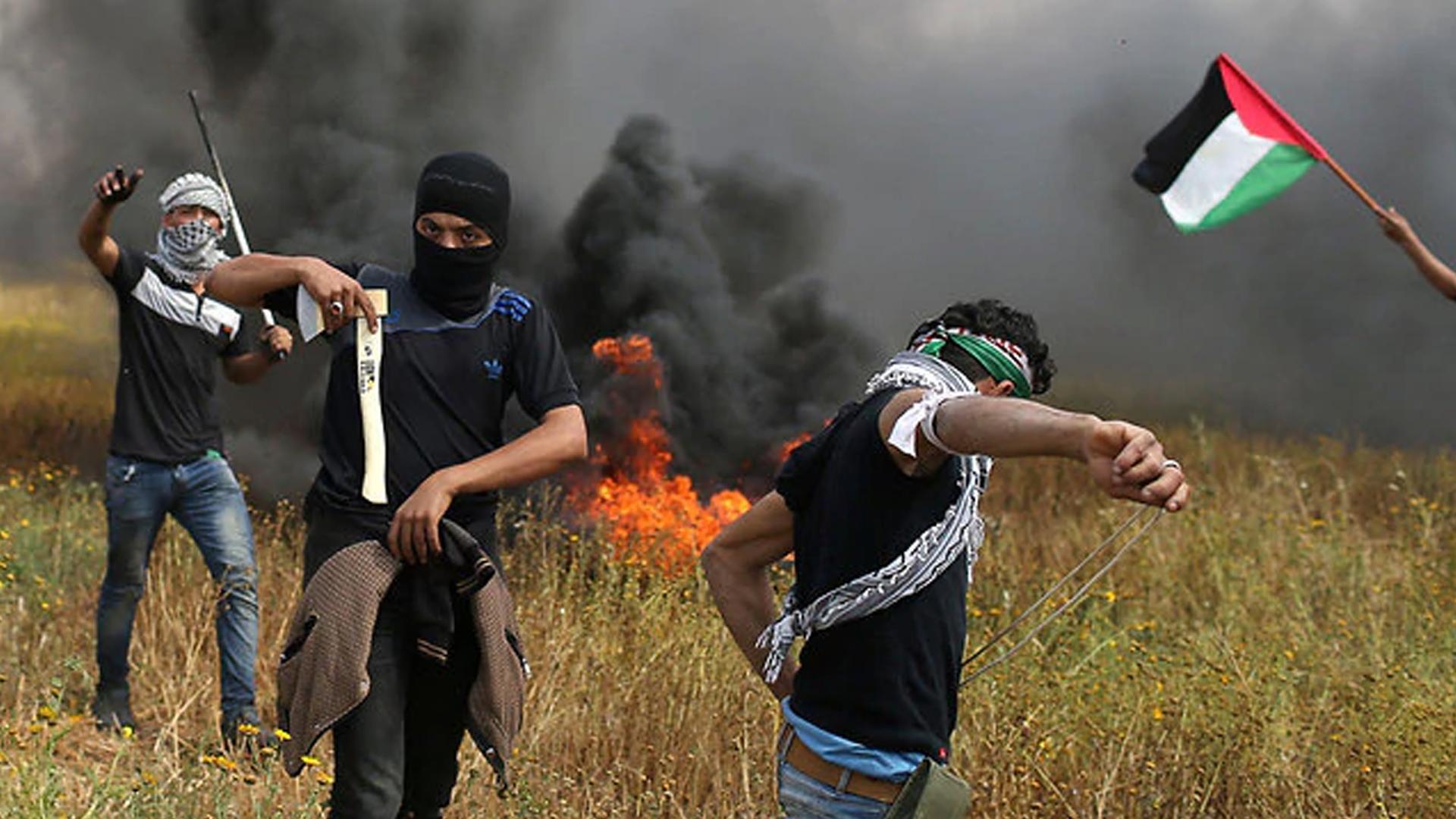 Violent Gaza Riots
