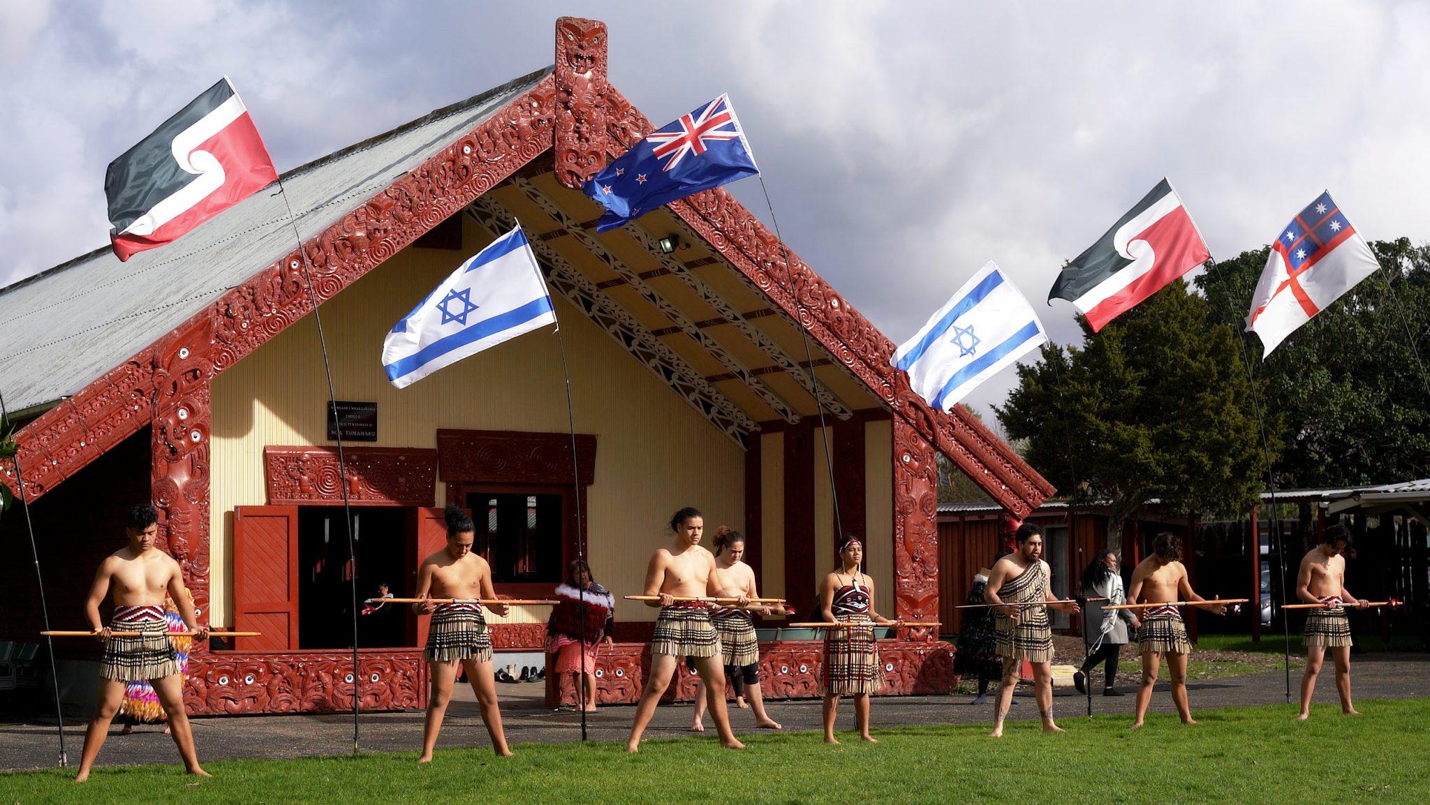 Historic Māori-led apology to Israel