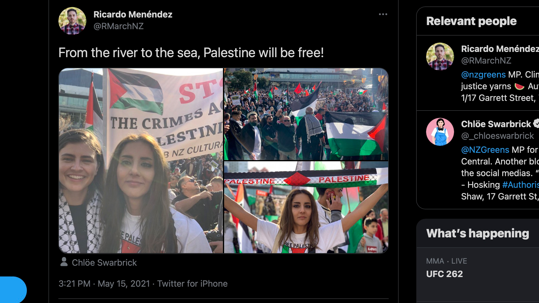 "What's wrong with ""From the River to the Sea, Palestine will be free""?"