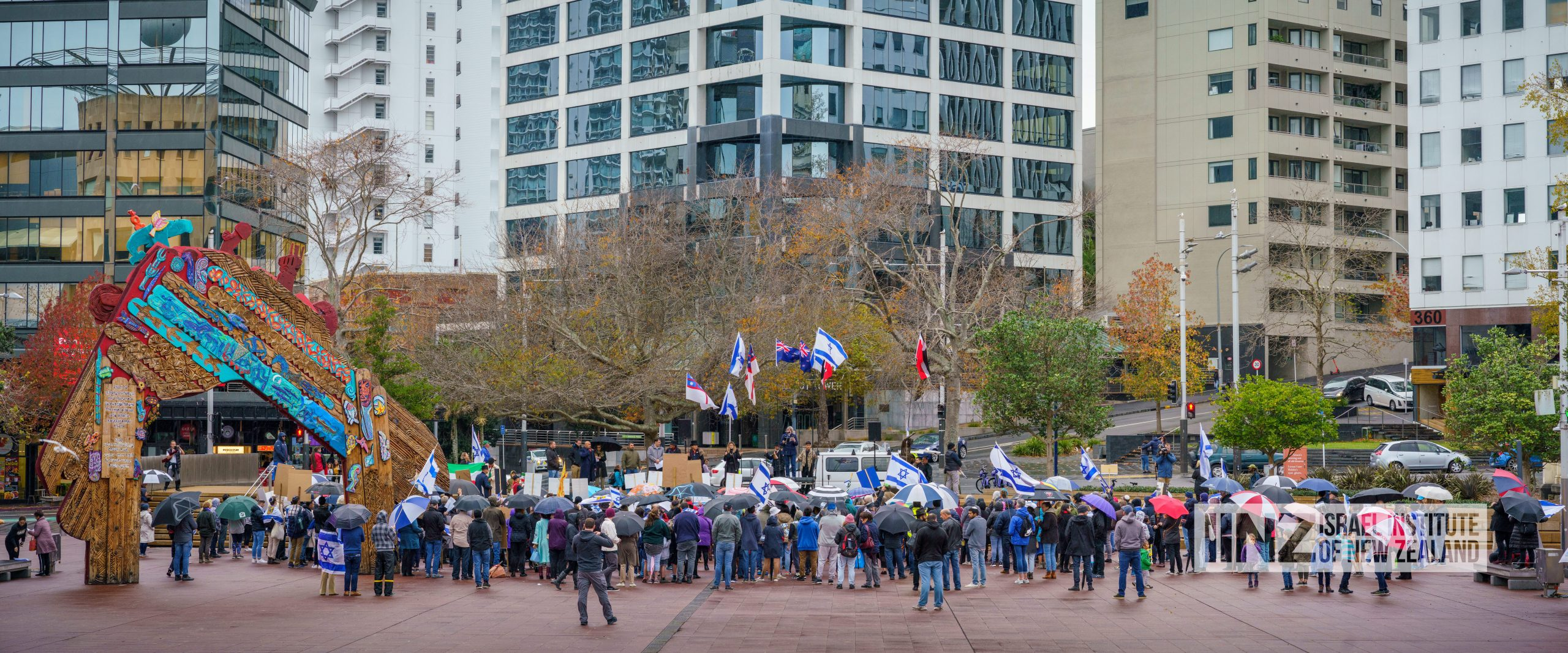 Kiwis stand in solidarity with Israel