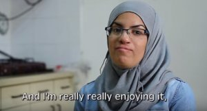 Kothar, a Muslim Arab woman who loves living and working in Israel