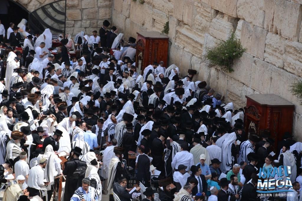 耶路撒冷那面牆-- 【西牆、哭牆】Western Wall