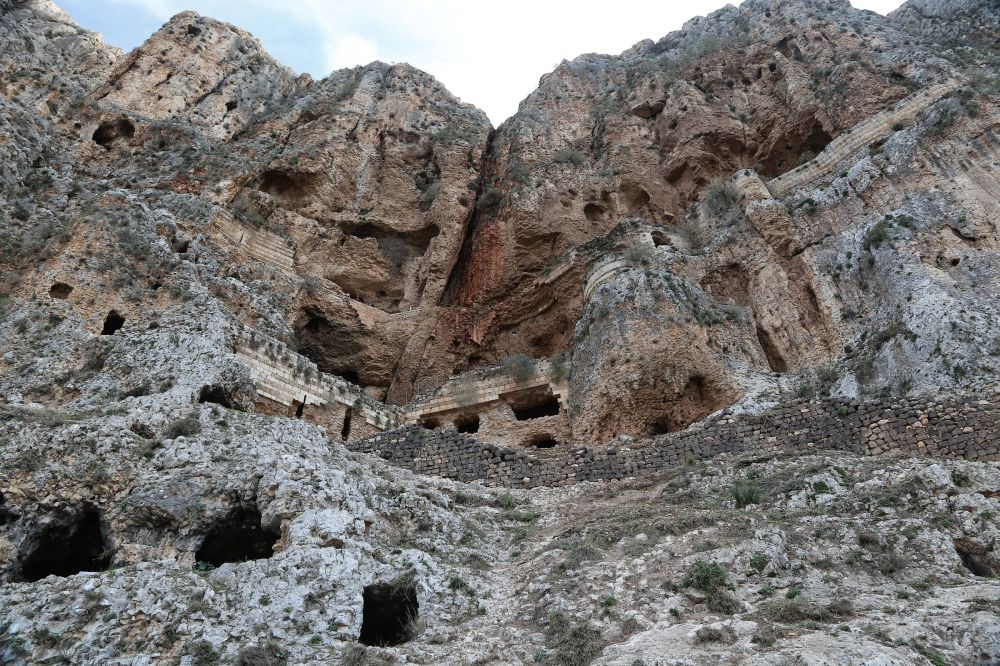 Caves of The Mount Arbel, Israel