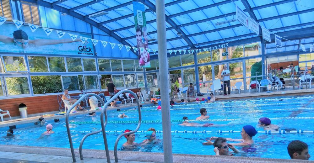 Swimming Pool in July