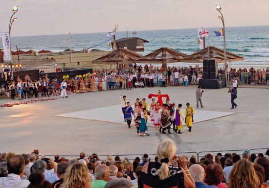 On July 7, 19:00, International Folklore Festival, Brazil, Georgia,  Bosnia and Israel, free entry, Dado Beach, Hof HaCarmel, Haifa