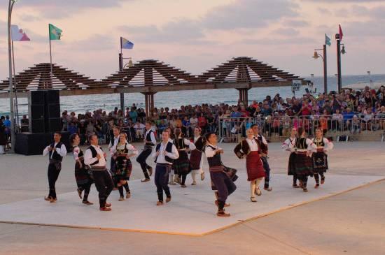 International Folklore Festival, July 7, 2015, Dado Beach, Hof HaCarmel, Haifa