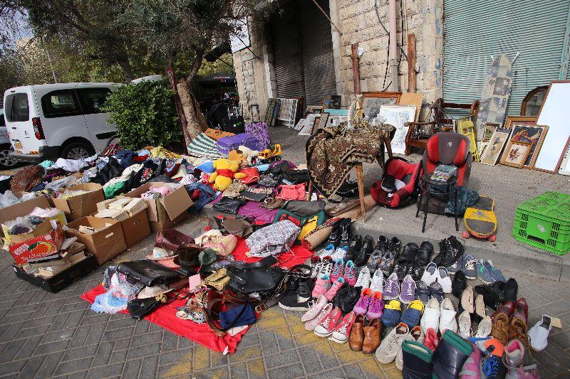 Alte Sachen: Flea Market, Haifa