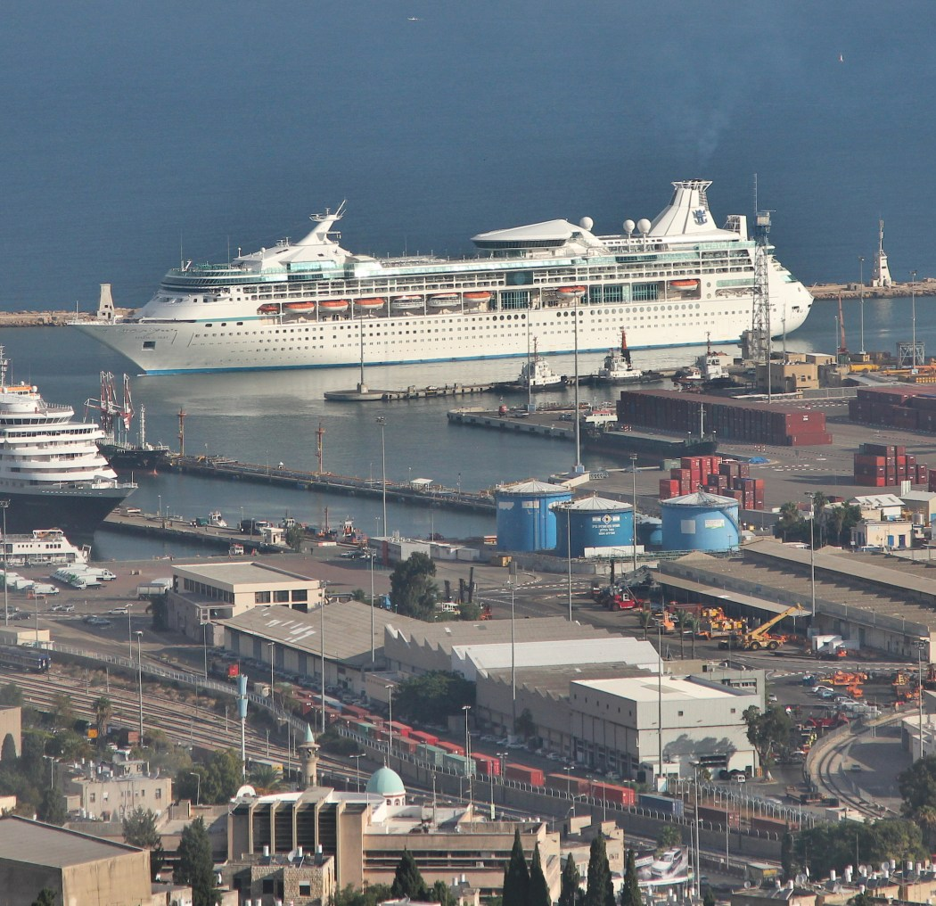 M/S Vision of the Seas embarks in Haifa Port