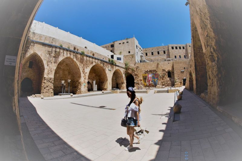 Knights' Halls (Citadel of Acre), Old City of Acre