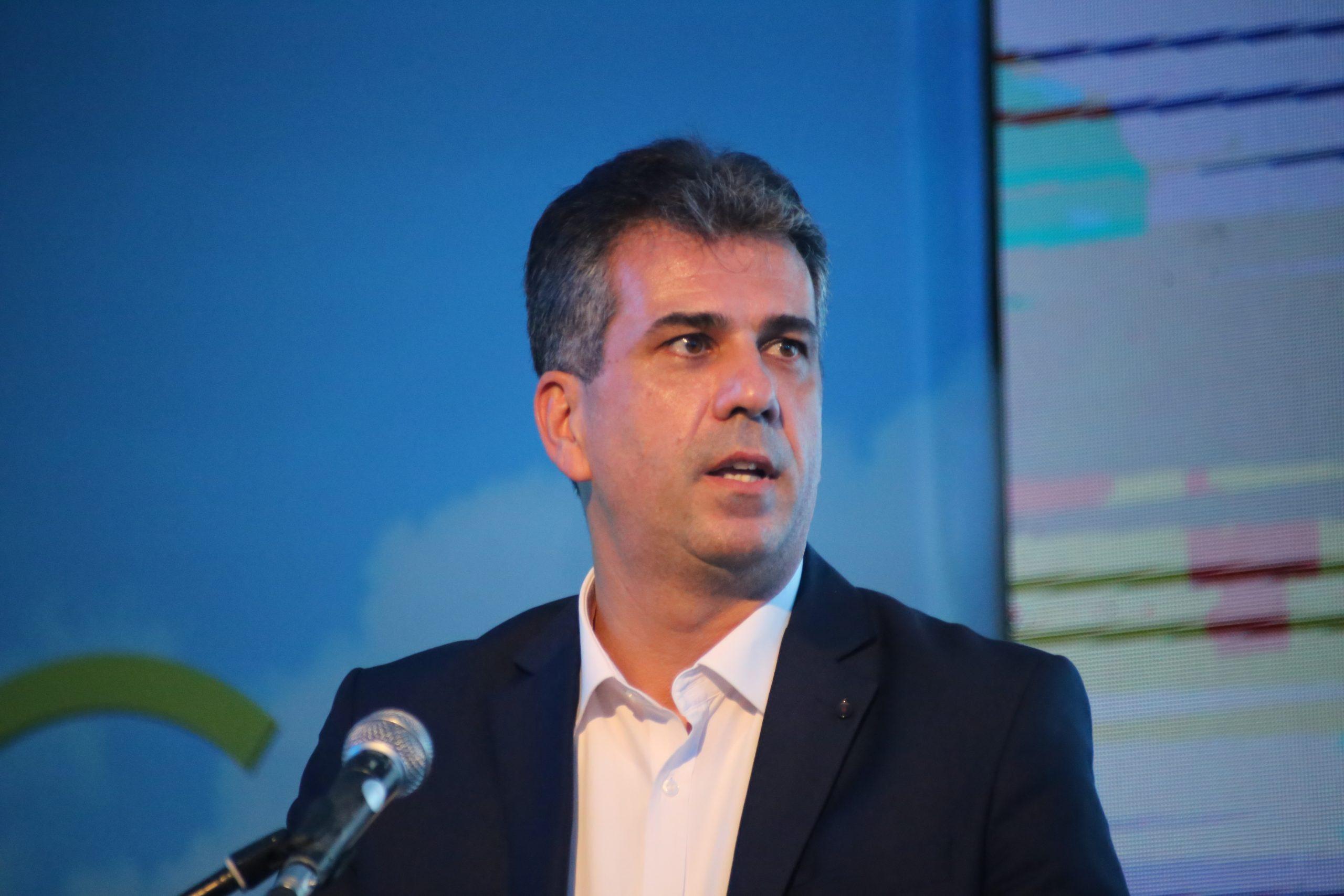 Intelligence Minister Eli Cohen