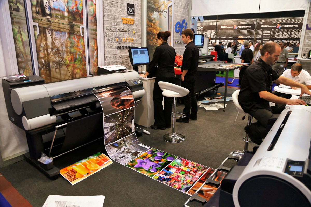 ISPRINT The Exhibition for Printing, Digital Printing, Graphics, Signage, Digital Signage & Publishing in Israel November 12-14, 2019, Tel Aviv Fairgrounds