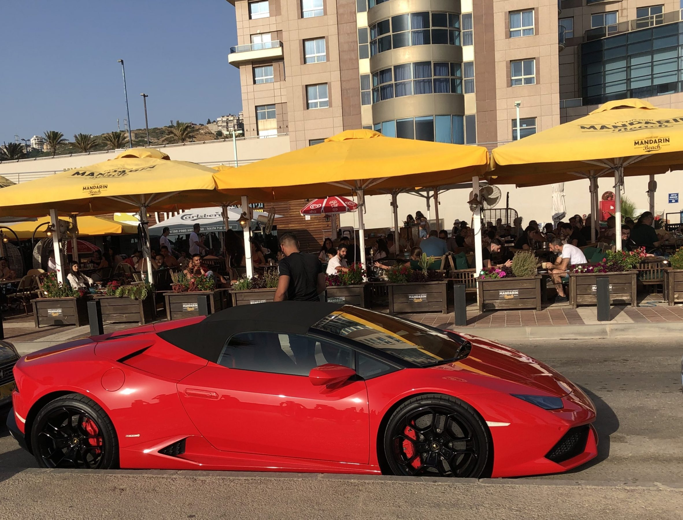 Luxury Cars Becoming a Common View in Israel