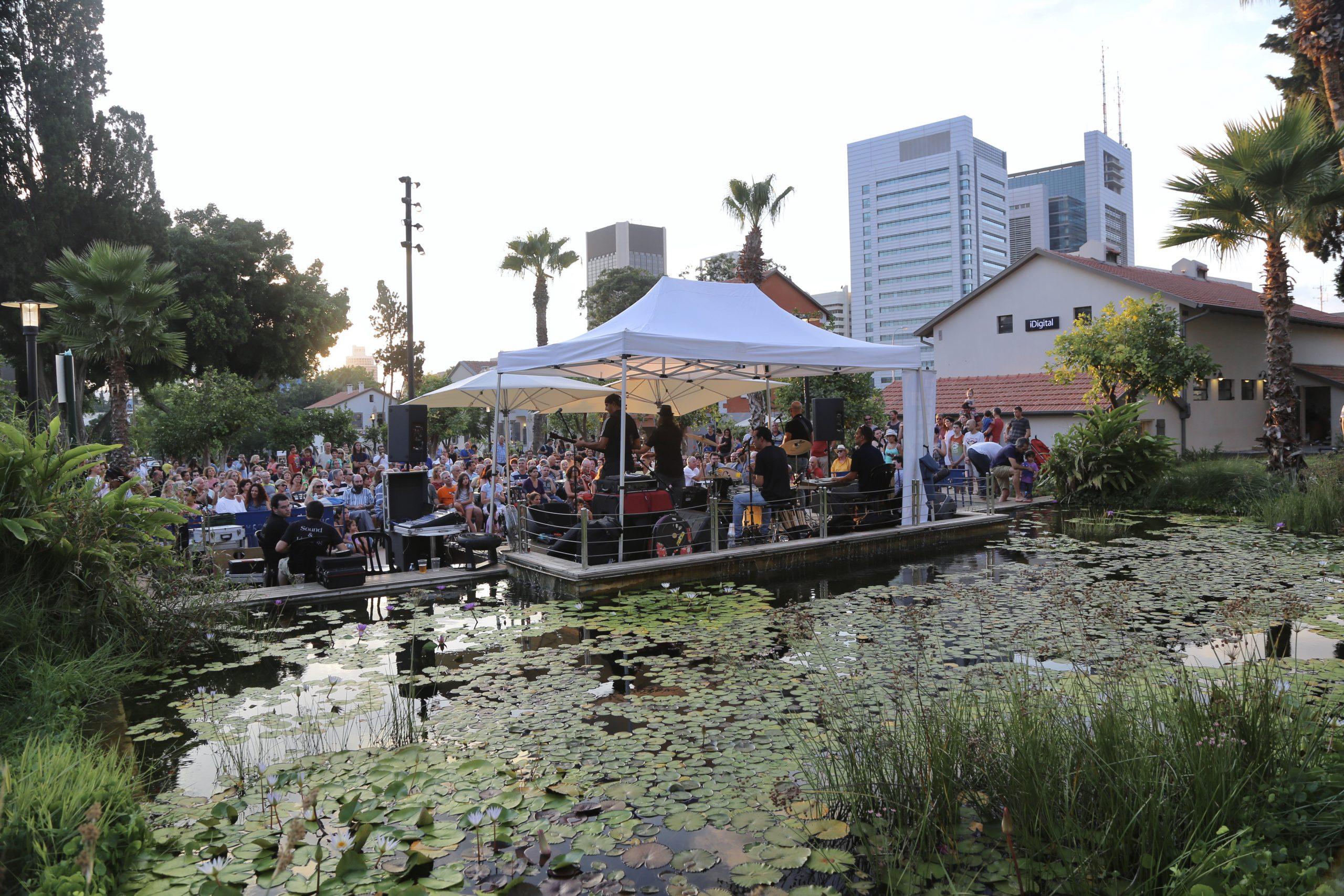 Summer Concert in Sarona, Tel Aviv