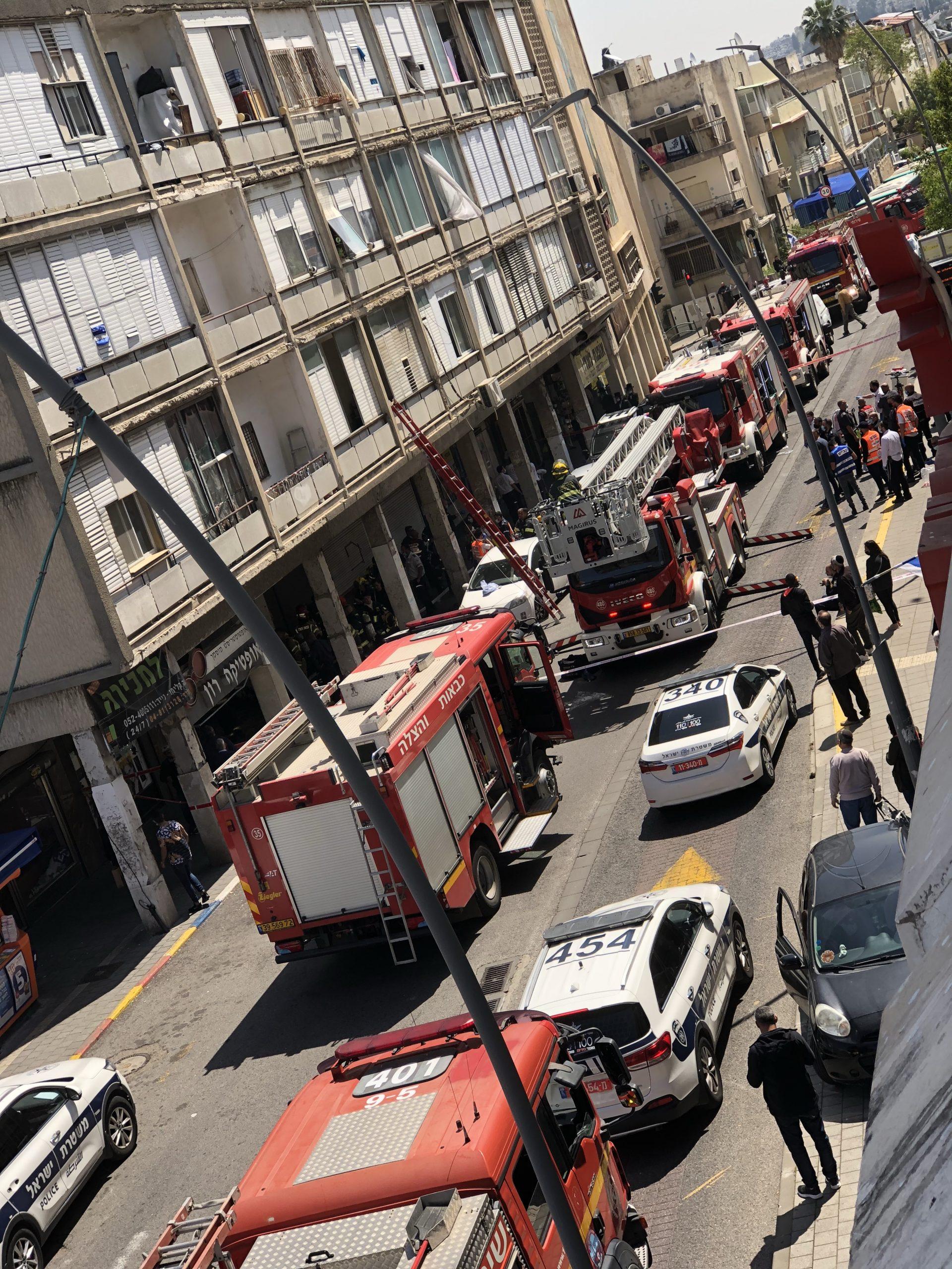 Fire at Hadar, Haifa