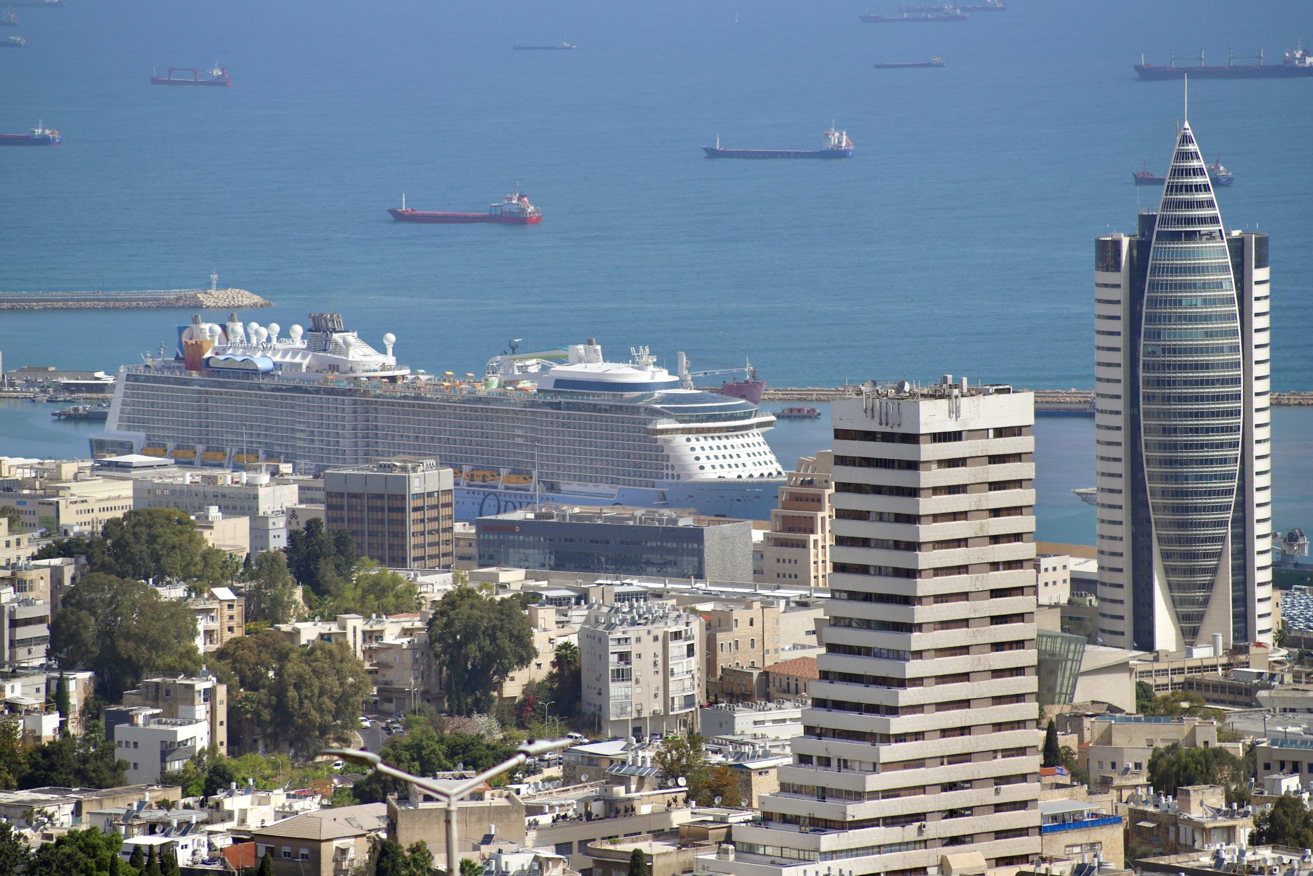 Royal Caribbean's Odyssey Of The Seas Arrives to Haifa for its Maiden Cruise
