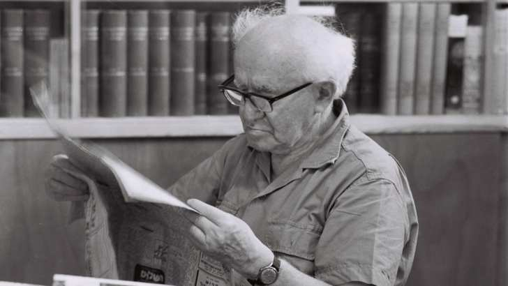 Ben-Gurion in 1951: Only Death Penalty Will Deter Jews From Gratuitous Killing of Arabs