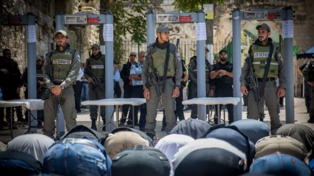 "Tikun Olam: Israeli Al Aqsa ""Compromise:"" Force Muslim Worshippers Through Cattle Pen-Like Chutes"