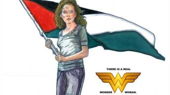Ahed Tamimi, the real Wonder Woman? Artist behind historic Che Guevara poster turns his brush to Palestinian teen jailed by Israel