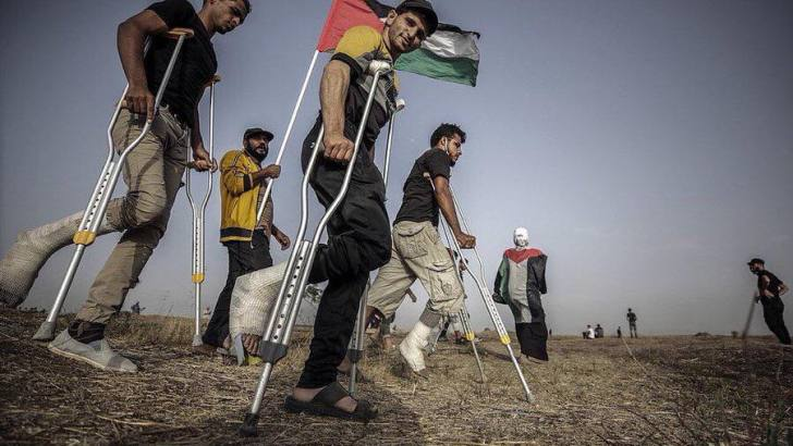Gaza Palestinians plan for mass protests to end the blockade and occupation; call for supporters around the world to mobilize in solidarity
