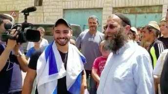 Elor Azaria Receives Hero's Welcome at Scene of Hebron Shooting