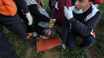 Israeli snipers kill Palestinian woman, target medics, injure 25 with live fire, tear gas