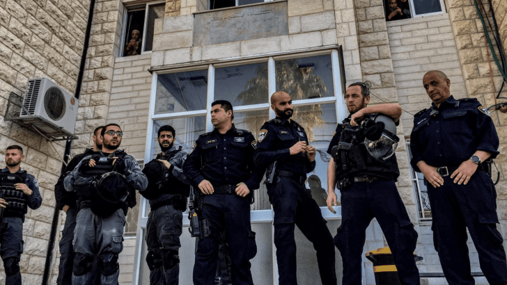 Israeli Police Raid Hospital 50th Anniversary Celebration because it's too Palestinian