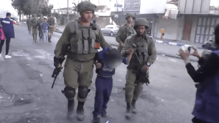 Yes, Israel does arrest children