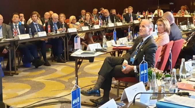 Elan Carr at World Jewish Congress conference on antisemitism