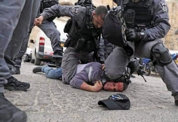 Minn cops trained by Israeli police, who often use knee-on-neck restraint