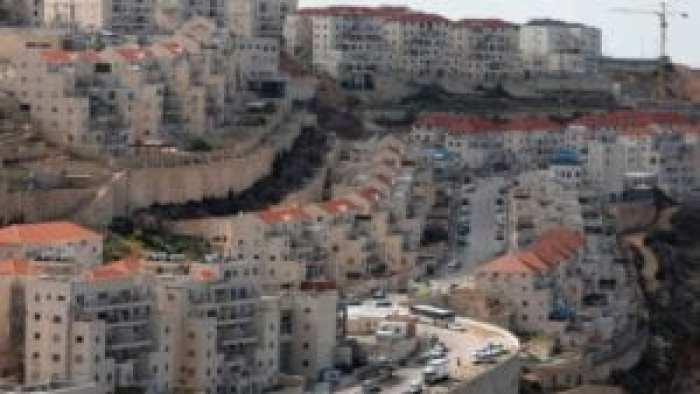 The Israeli settlement of Beitar Illit in the occupied West Bank.