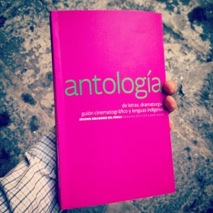 La Antología es editada por el FONCA y puedes conseguir un ejemplar, generalmente gratuito en sus oficinas del Centro Histórico de la Ciudad de México (República de Argentina 13).