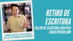 Retiro de escritura | Taller de Escritura Creativa de Israel Pintor en Sevilla