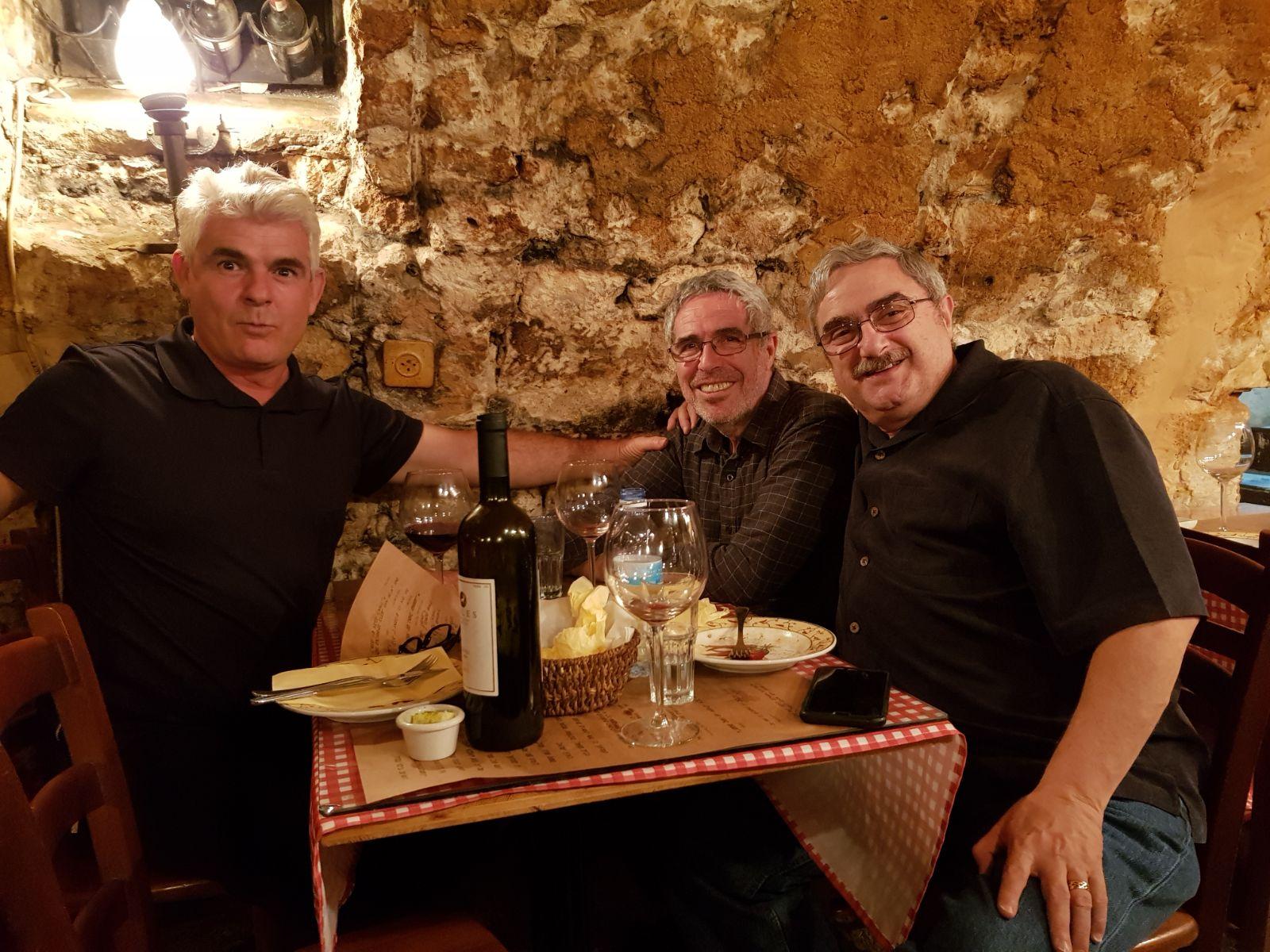 Assaf, Steve, Bruce Ornstein