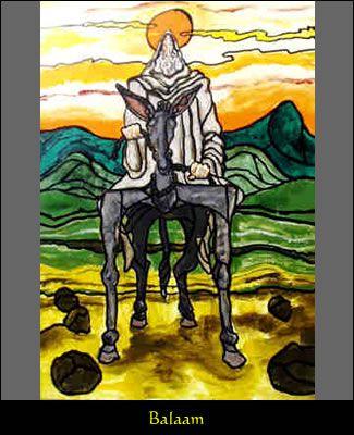 balaam horse