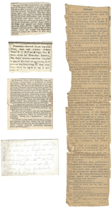 Obituary for Esther (Allen) Daniels in Kansas City Paper