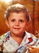 Cuando Isra García era pequeño