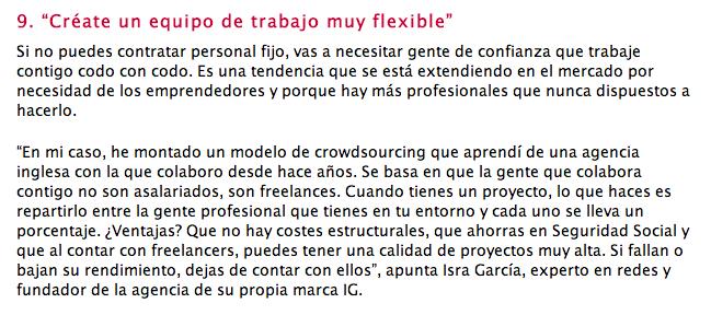 Cómo ser más competitivo en solitario - Emprendedores - Isra García