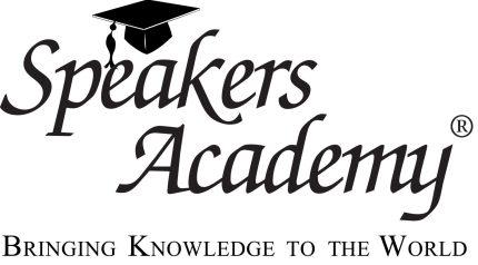 Speakers academy logo