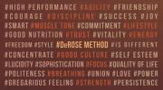 Profundidad: experimento DeRoseMethod tercera semana