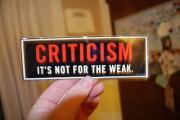 Serás criticado