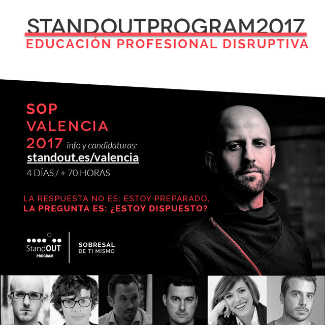 stand out program valencia 2017