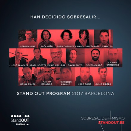 la tensión e Stand OUT Program