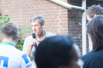 Directeur van Port of Amsterdam deed een leuk woordje en reikte de prijzen uit