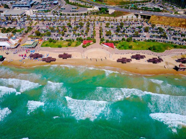 Хайфа пляж море