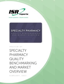 Report cover for Specialty Pharmacy Quality Benchmarking and Market Overview