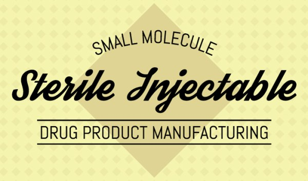Small Molecule Sterile Injectable Drug Product Manufacturing